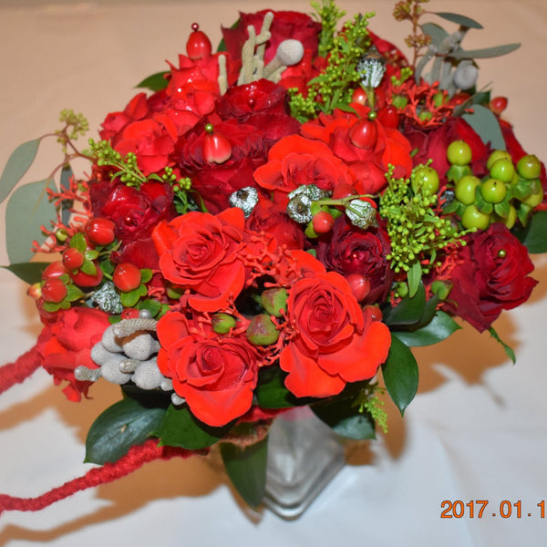 Princess - Bridal Bouquet -  Floral Jewelry - The Flower Station