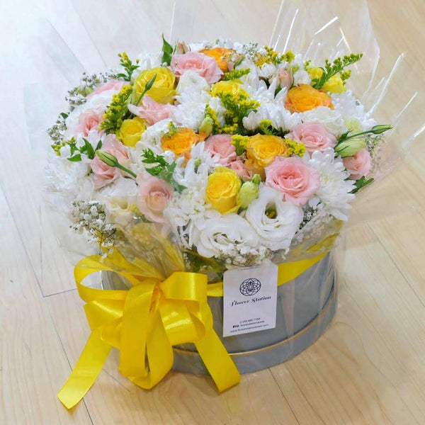 Summer Breeze - Flower Box -  Flower Delivery - Flower Station Dubai