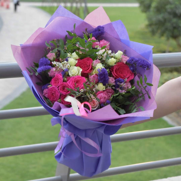 Fragrance - Mixed Bouquet -  Flower Gift  by Flower Station Dubai