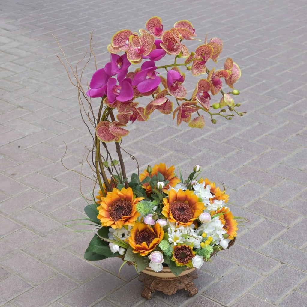 Delightful - Artificial Flowers -  Flower Gift  by Flower Station Dubai