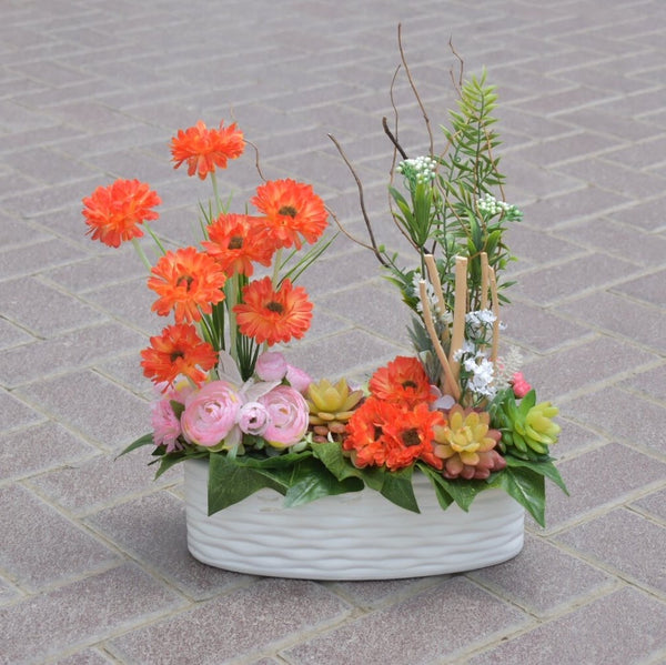 Dear Daisy - Artificial Flowers -  Flower Gift  by Flower Station Dubai
