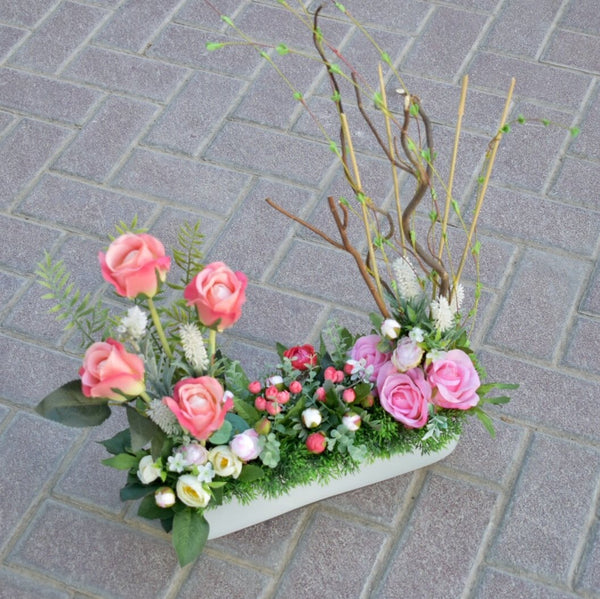 Angelic - Artificial Flowers -  Flower Gift  by Flower Station Dubai