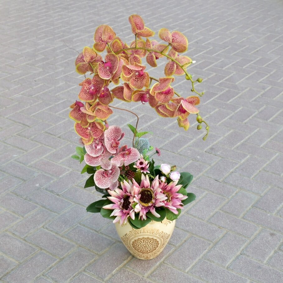 Sweet Morning  - Artificial Flowers -  Flower Gift  by Flower Station Dubai