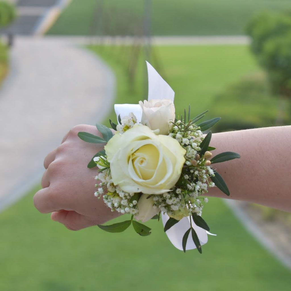 I love Us - Corsage -  Flower Gift  by Flower Station Dubai