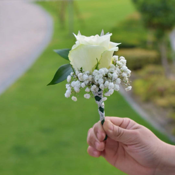 Rose - Boutonniere -  Flower Gift  by Flower Station Dubai
