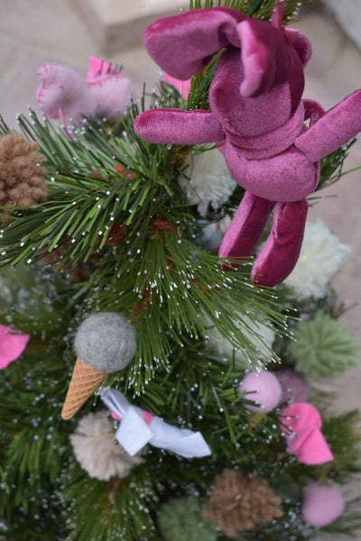 Christmas Bunny -  Flower Delivery - Flower Station Dubai