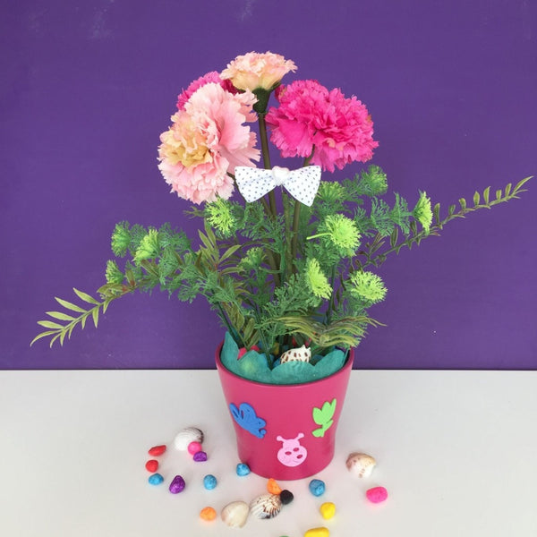 DIY for kids - Carnation -  Flower Delivery - Flower Station Dubai