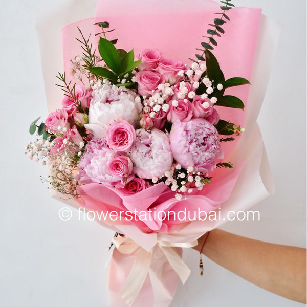 Adorable - Mixed Bouquet -  Floral Gifts - The Flower Station