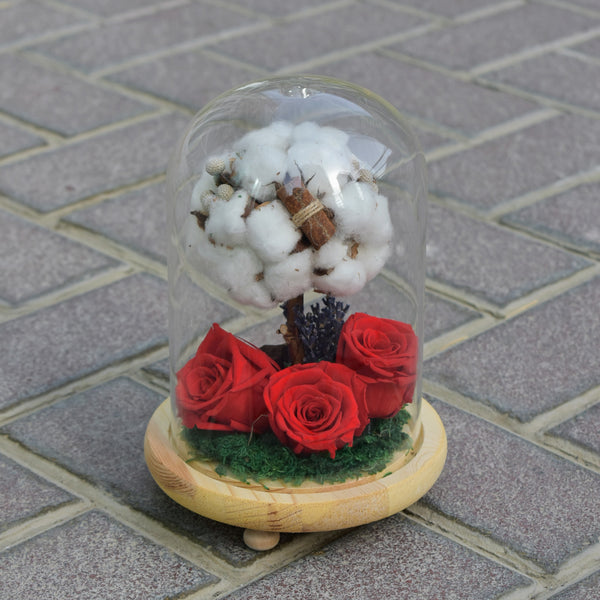 True Love - Preserved Flower -  Decors - The Flower Station