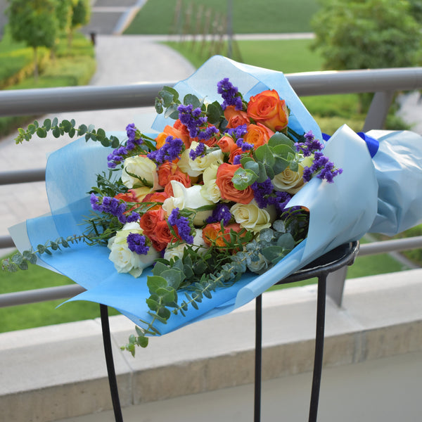 Heaven Scent - Mixed Bouquet -  Flower Gift  by Flower Station Dubai