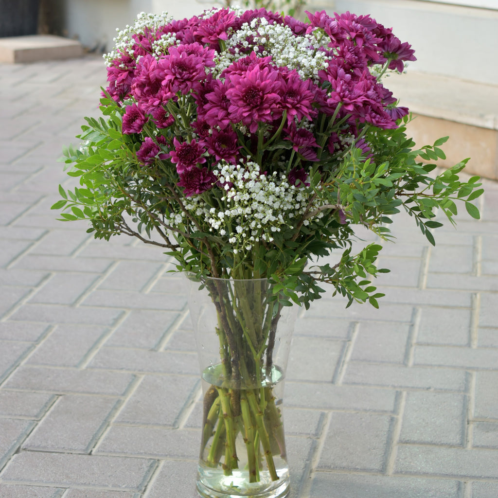 Cute Chrysanthemum -  subscription - The Flower Station