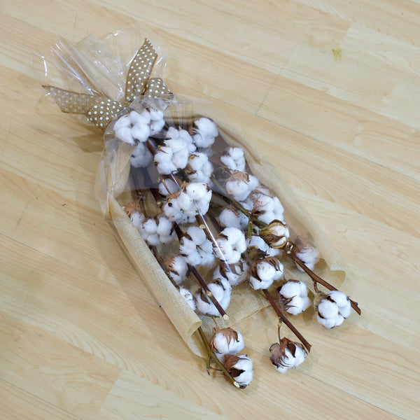 Cotton Candy - Dried Bouquet -  Flower Gift  by Flower Station Dubai