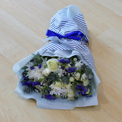 Something Blue - Mixed Bouquet -  Floral Gifts - The Flower Station