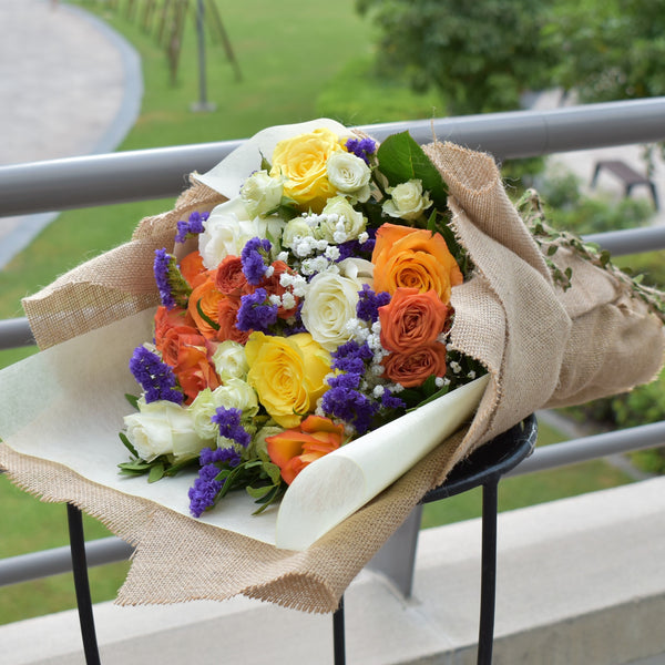 Delightful - Mixed Bouquet -  Flower Gift  by Flower Station Dubai