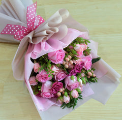 Sweetest Thing - Mixed Bouquet -  Floral Gifts - The Flower Station