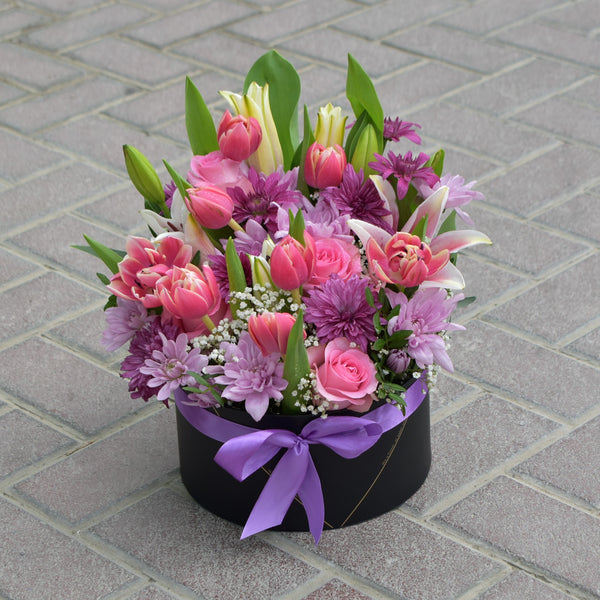 Just The Way You Are - Flower Box -  Flower Delivery - Flower Station Dubai