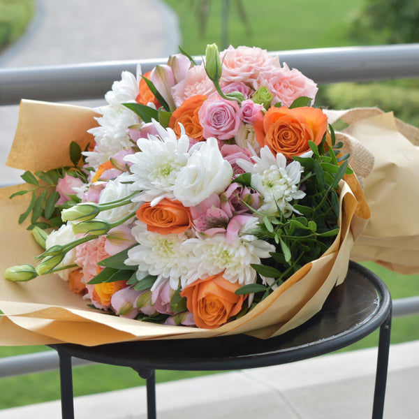 Sincerely - Mixed Bouquet -  Flower Gift  by Flower Station Dubai