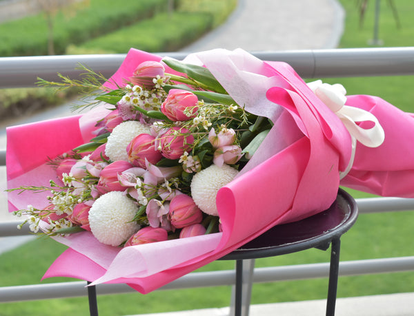 Infinite Love - Mixed Bouquet -  Flower Gift  by Flower Station Dubai
