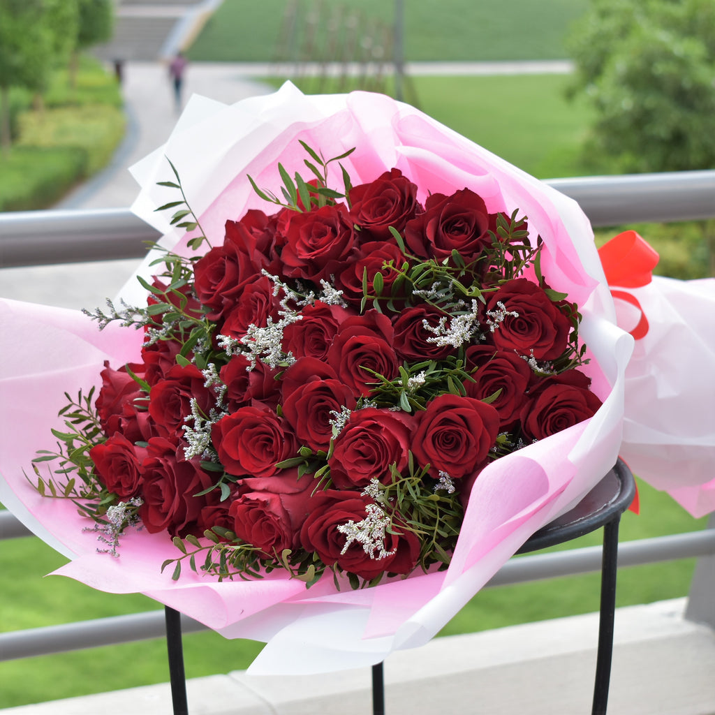 Forever In Love -  Flower Gift  by Flower Station Dubai