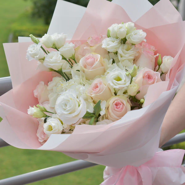 Little Darling - Mixed Bouquet -  Flower Gift  by Flower Station Dubai