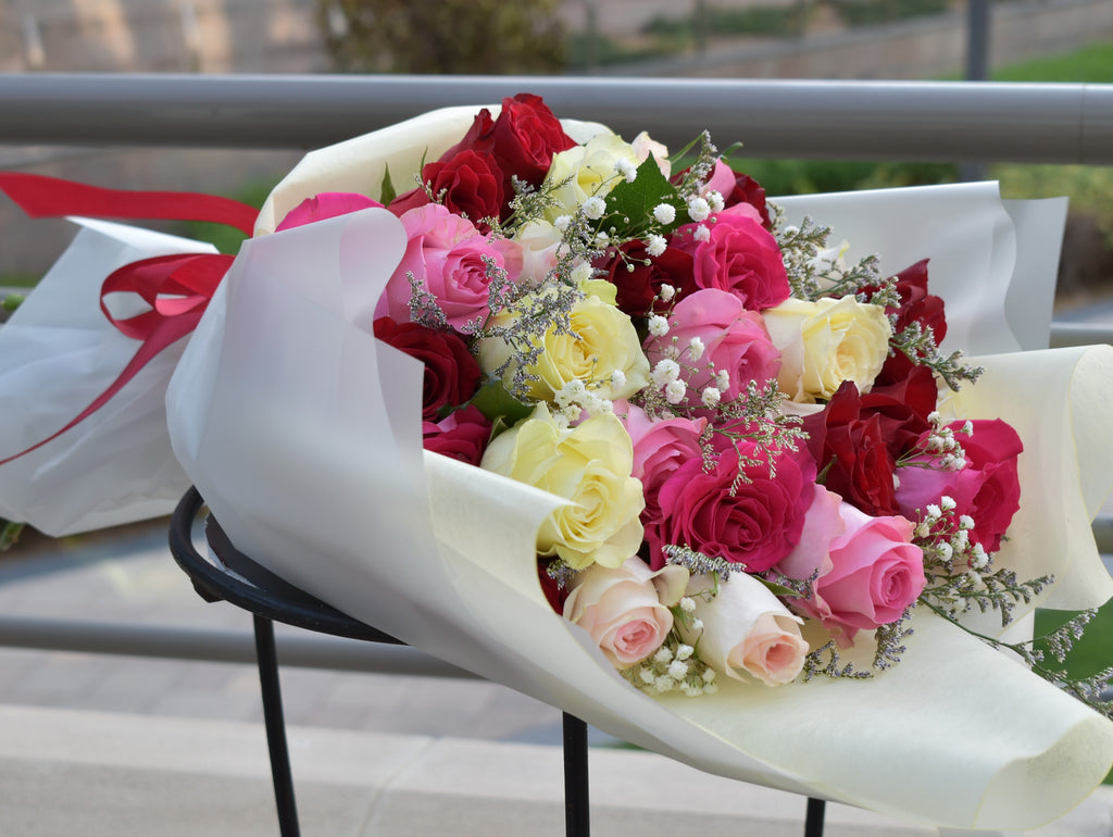 Be My Lady - Mixed Bouquet -  Flower Gift  by Flower Station Dubai