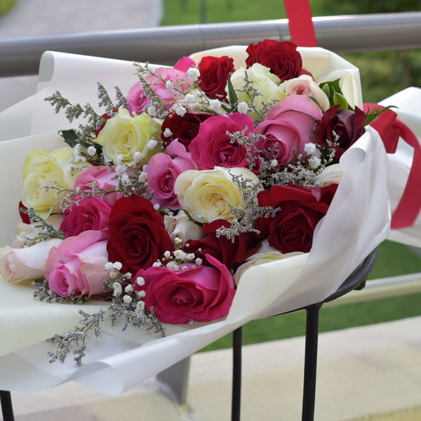 Be My Lady - Mixed Bouquet -  Flower Delivery - Flower Station Dubai