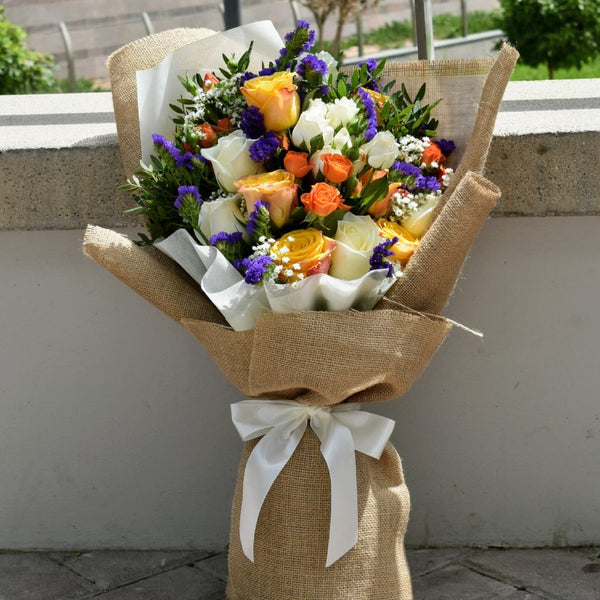 Delightful - Mixed Bouquet -  Flower Delivery - Flower Station Dubai