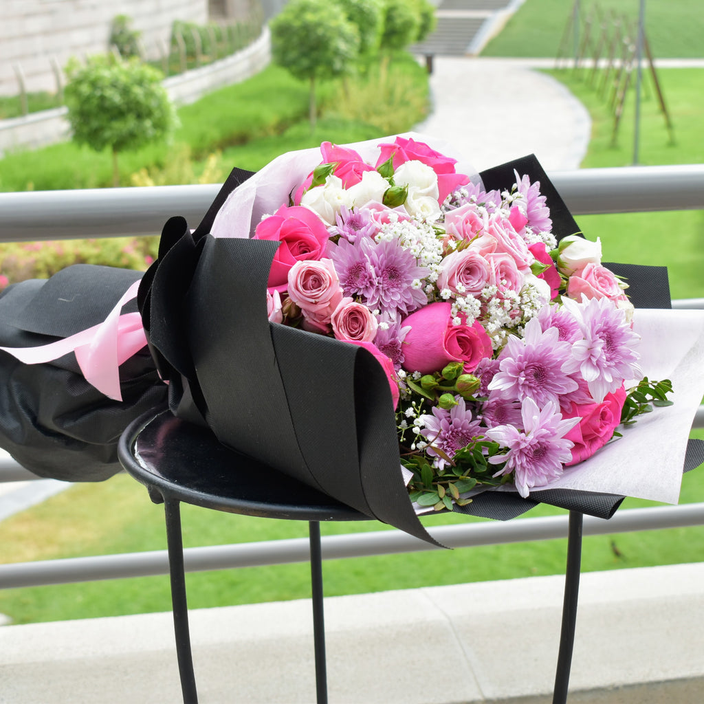 My Only One - Mixed Bouquet -  Flower Gift  by Flower Station Dubai