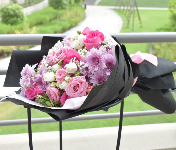 My Only One - Mixed Bouquet -  Flower Delivery - Flower Station Dubai