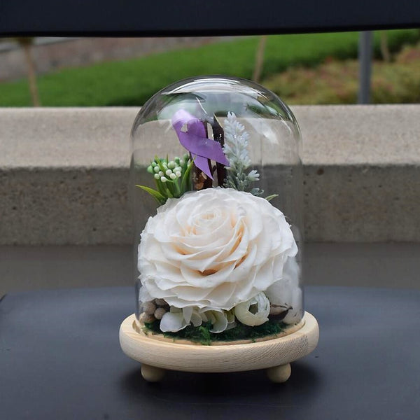 Happiness - Preserved Flower -  Decors - The Flower Station
