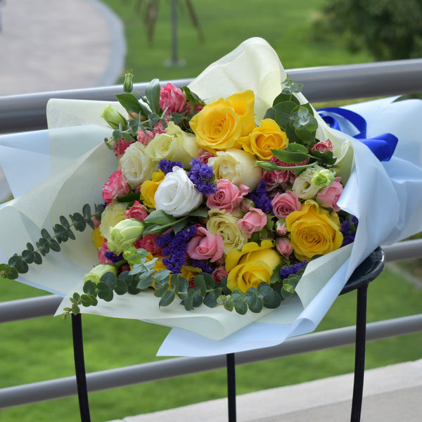 Adorable - Mixed Bouquet -  Flower Gift  by Flower Station Dubai
