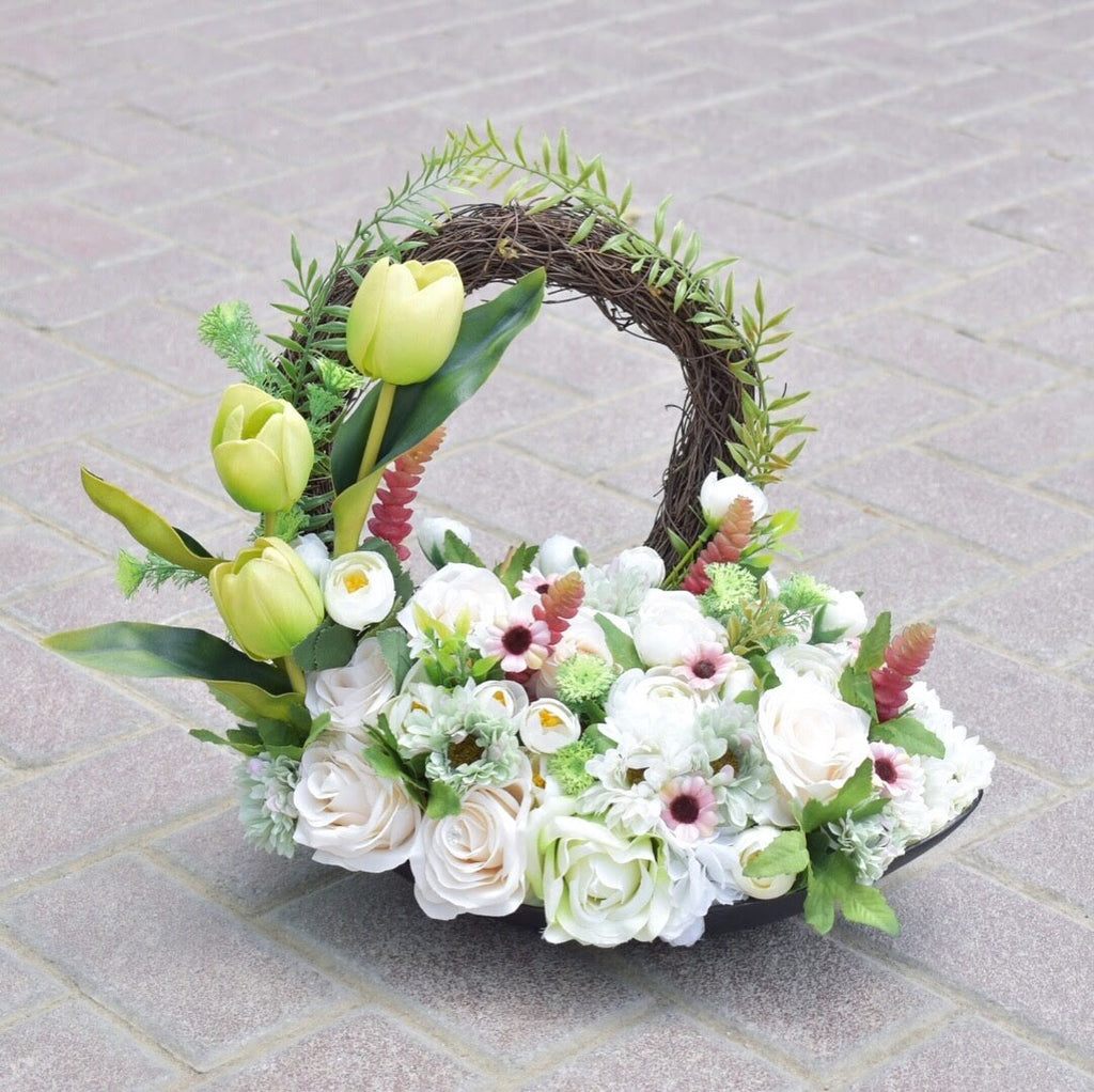 Snowflakes - Artificial Flowers -  Flower Delivery - Flower Station Dubai