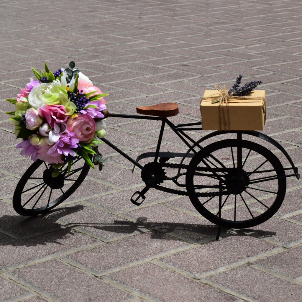 Bicycle - Artificial Flowers -  Flower Gift  by Flower Station Dubai