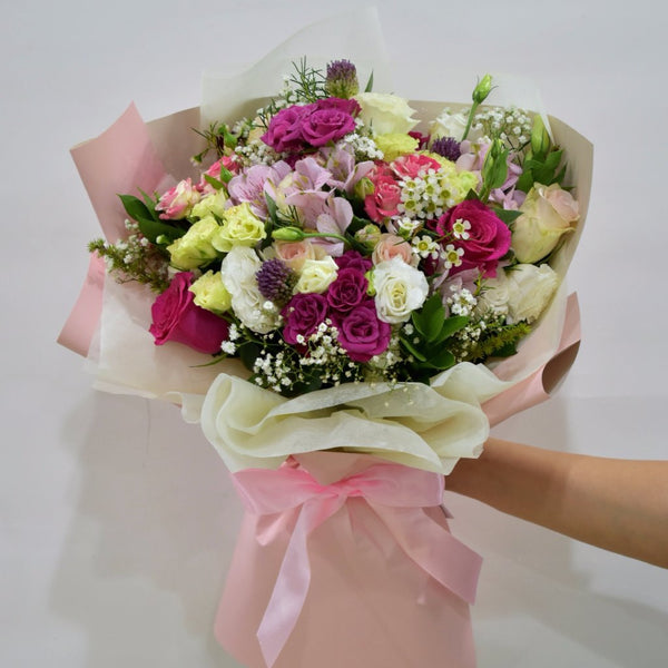 One True Love - Mixed Bouquet -  Floral Gifts - The Flower Station
