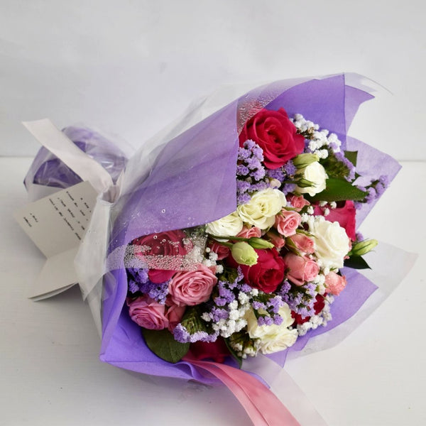 Enchanting - Mixed Bouquet -  Floral Gifts - The Flower Station