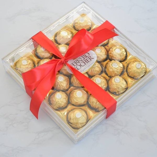 Ferrero Rocher (24 pcs.) - Flower Station Dubai