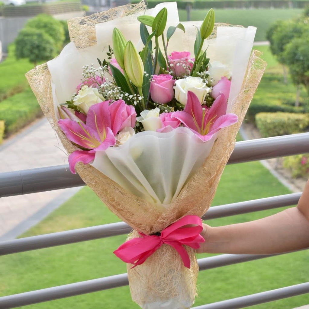Sentiments - Mixed Bouquet -  Flower Delivery - Flower Station Dubai