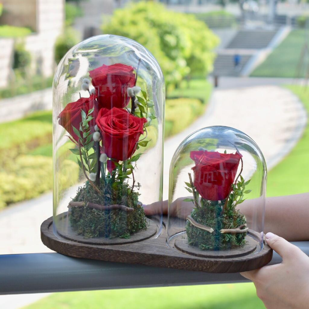 Made For Each Other - Forever Rose -  Flower Delivery - Flower Station Dubai