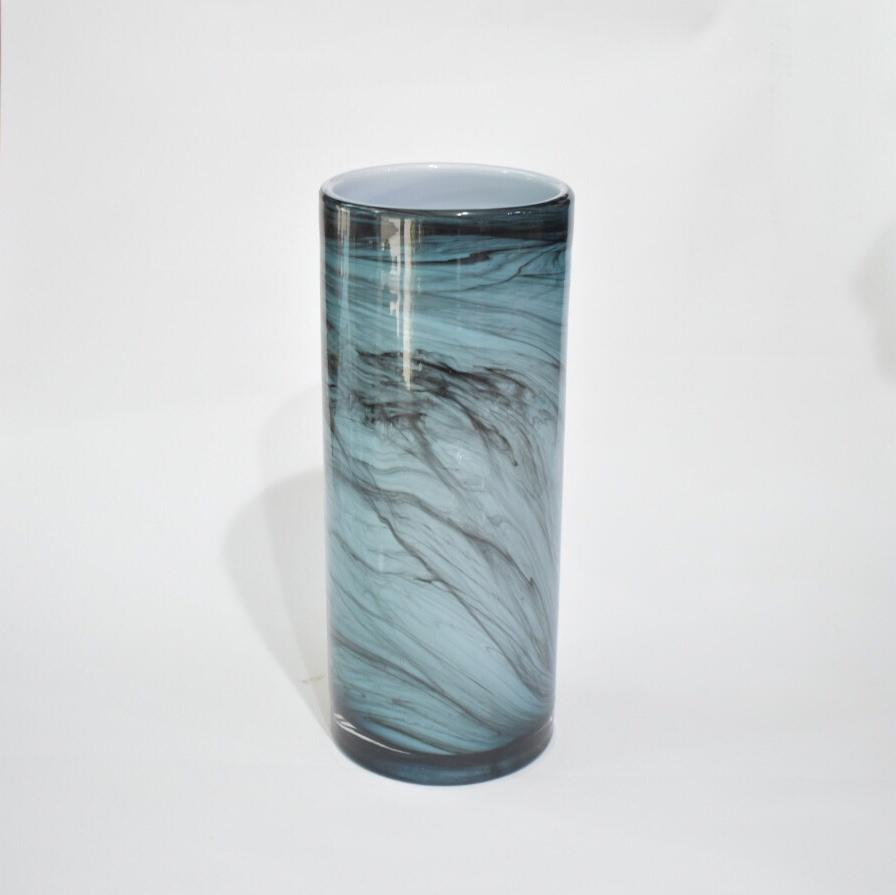 Glass Vase - Marble 2 - Flower Station Dubai