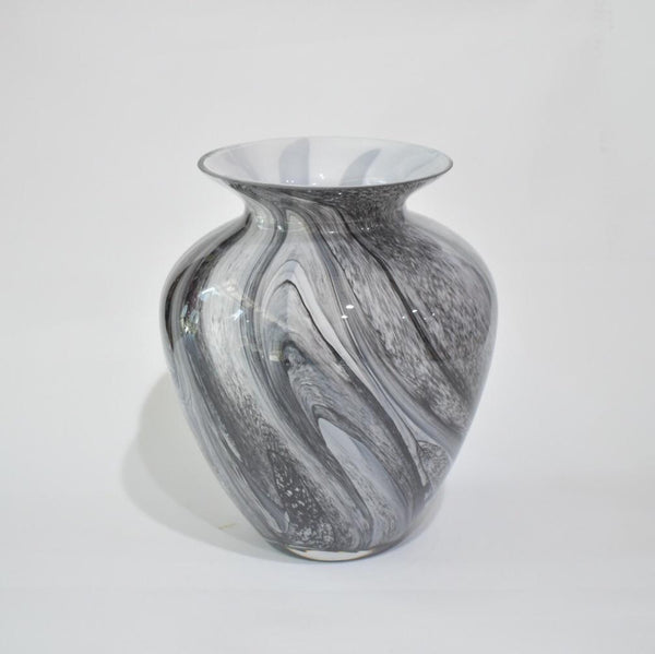 Glass Vase - Marble 1 -  Flower Delivery - Flower Station Dubai