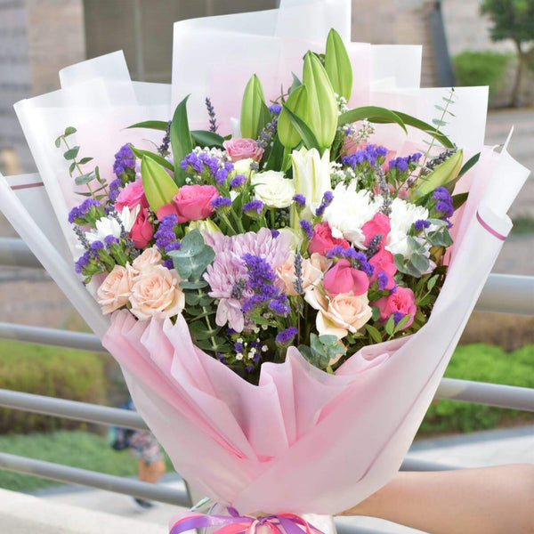 You're Lovely - Mixed Bouquet -  Flower Delivery - Flower Station Dubai
