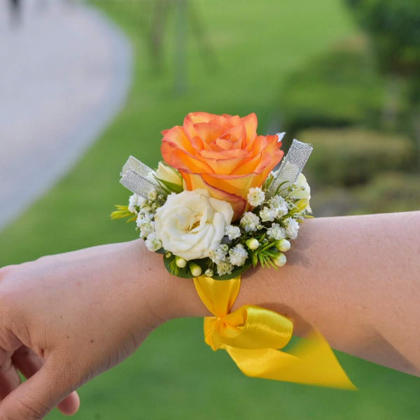 Sunshine - Corsage -  Flower Gift  by Flower Station Dubai
