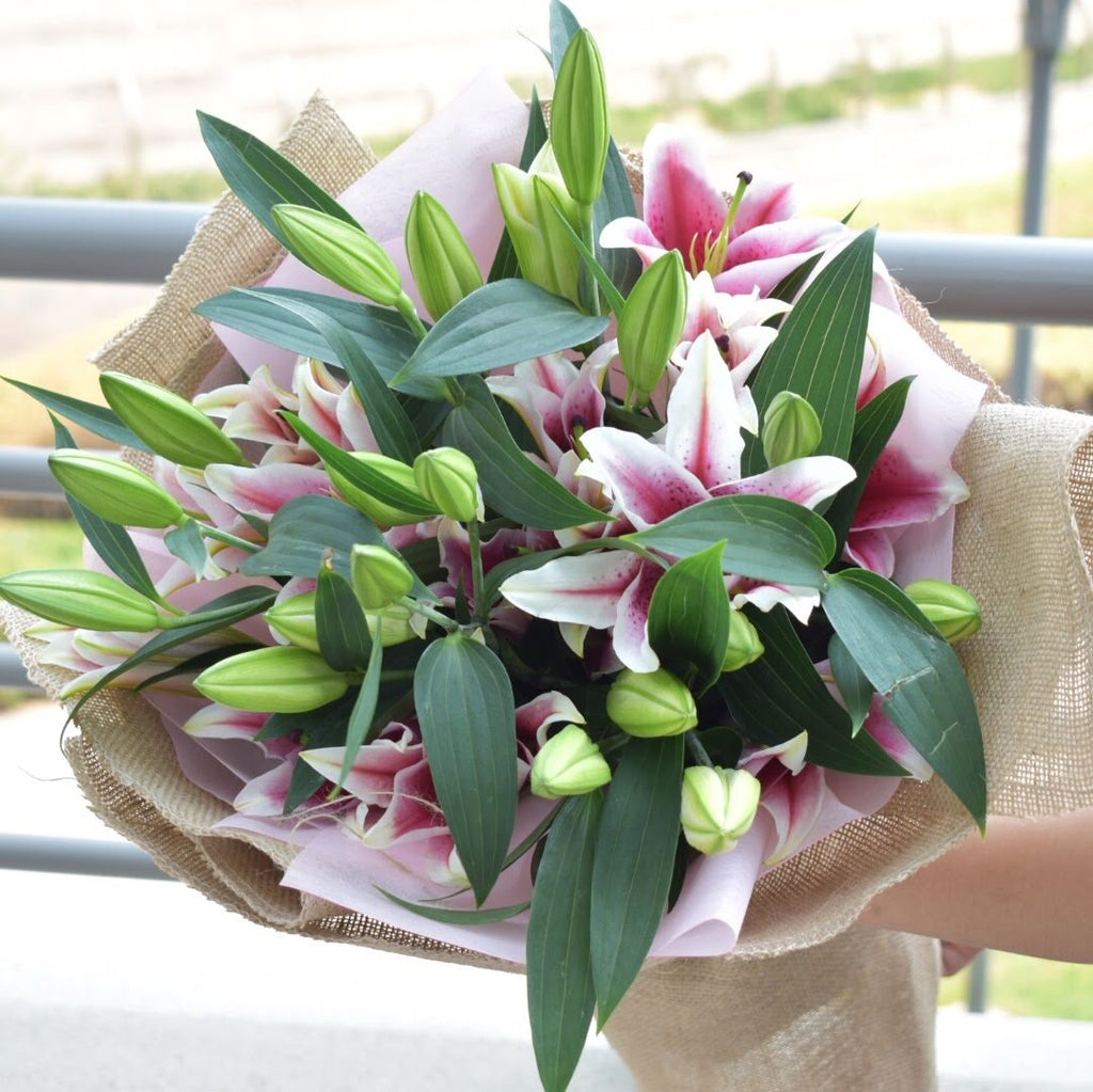 You're a Gem - Lily Bouquet -  Flower Delivery - Flower Station Dubai