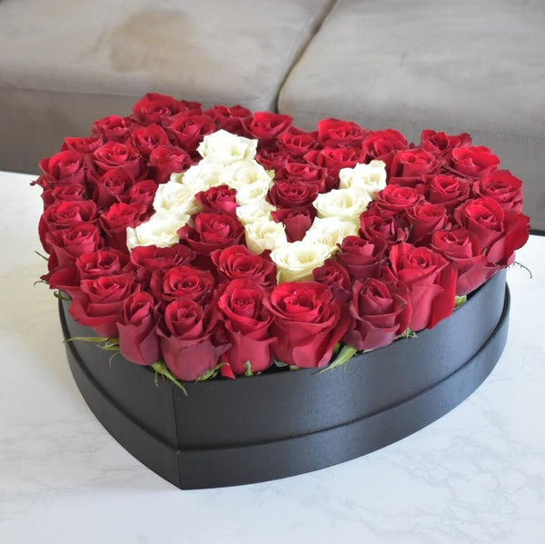 Rose Box with Letter - Valentine's Speical