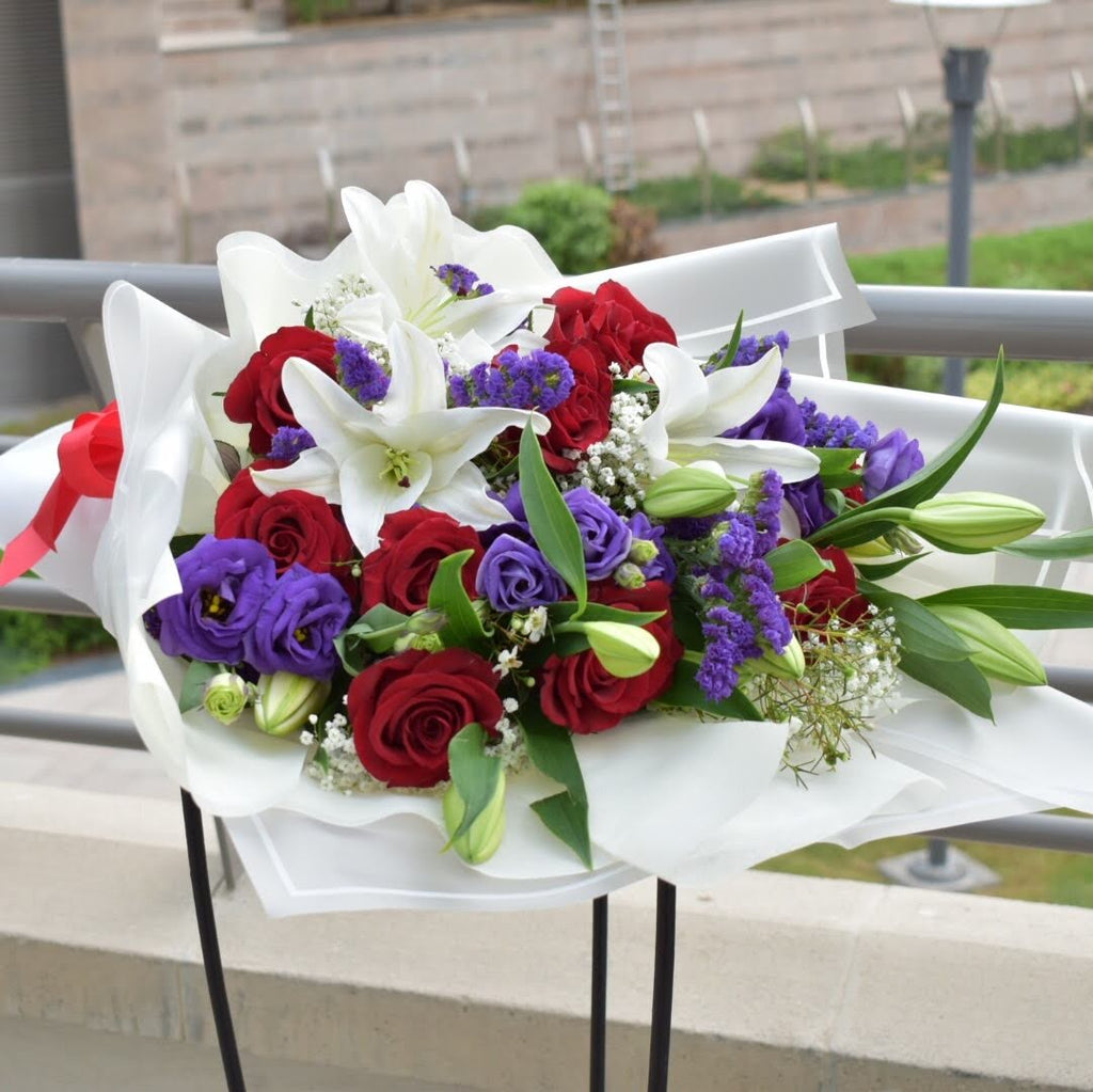 You & Me - Mixed Bouquet -  Flower Delivery - Flower Station Dubai