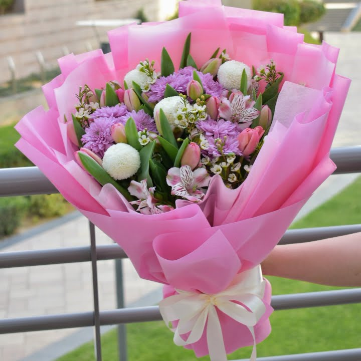 Ms. Beauty  - Mixed Bouquet -  Flower Gift  by Flower Station Dubai