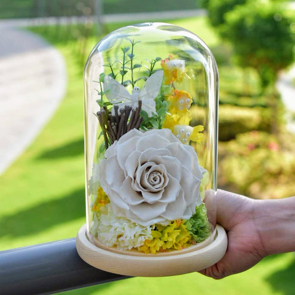 Tranquil - Preserved Rose -  Flower Gift  by Flower Station Dubai