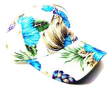 Crown Floral Hawaiian Print Sublimated Dad Hat