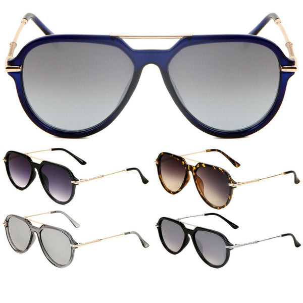 Classic Sport Luxury Retro Aviator Sunglasses