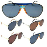 Luxury Turbo Aviator Sunglasses w/ Floating Lenses